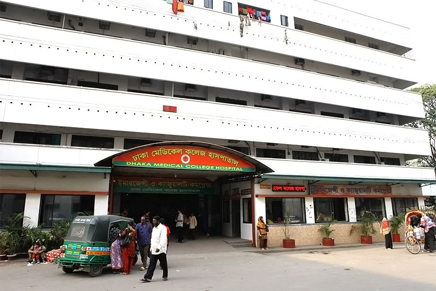 Black fungus detected in patient at DMCH