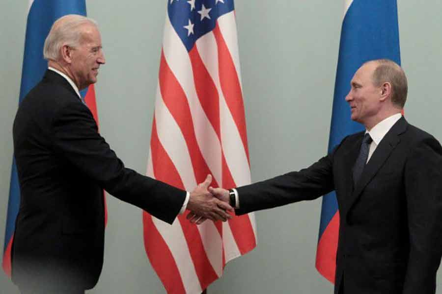 In 2011, Russia's Vladimir Putin held meeting with the then US Vice President Joe Biden in Moscow -Reuters file photo