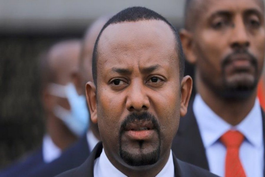 Mr Abiy hailed the result as 'historic' in a statement on Twitter - Reuters photo