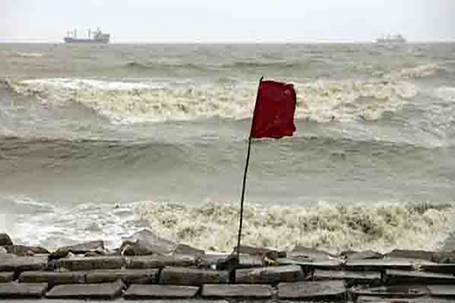 Met office issues cautionary signal 3 for maritime ports
