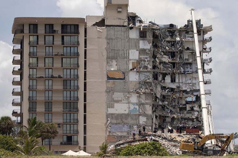 Death toll from Florida condominium collapse put at 98