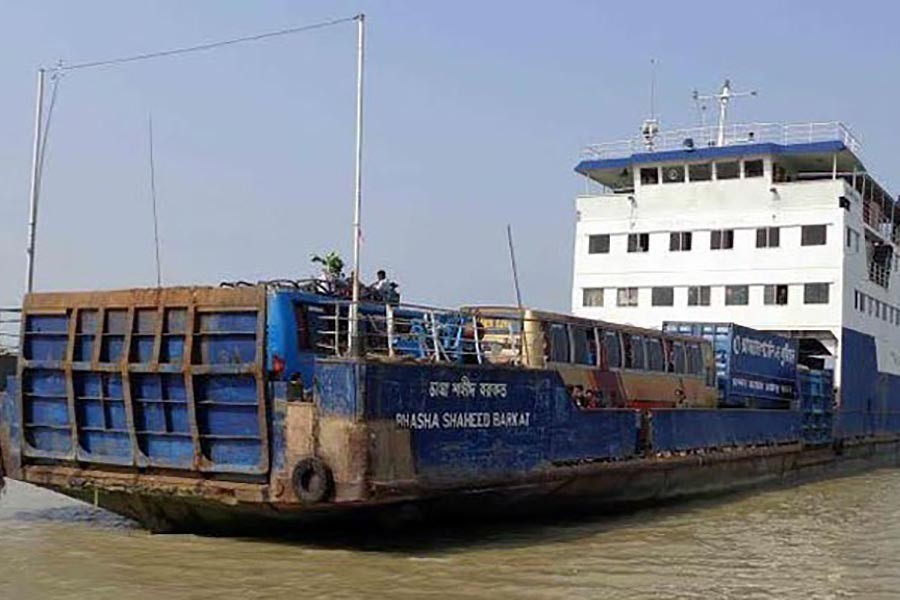 Ferry terminals continue to see good number of Dhaka-bound people