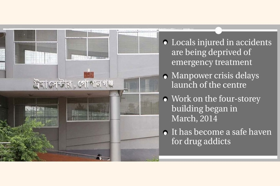 Delay in launch of trauma centre frustrates people