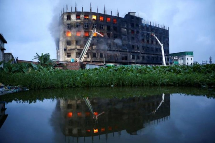 Narayanganj factory fire: Families receive remains of 24 deceased