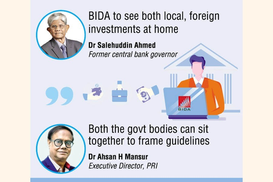 BB, BIDA run parallel to guide equity investment abroad