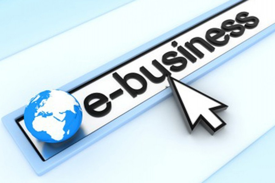 Recognising e-business as separate entity