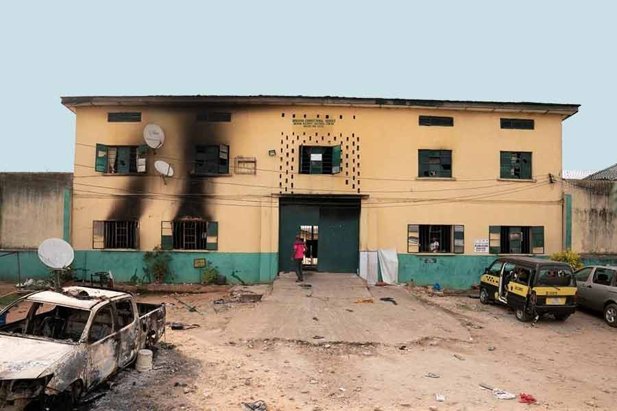 Gunmen attacked a prison in Owerri in southeastern Imo State of Nigeria in April this year, freeing more than 1,800 inmates. –Reuters file photo