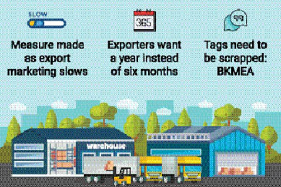 Extended warehouse facility for exporters