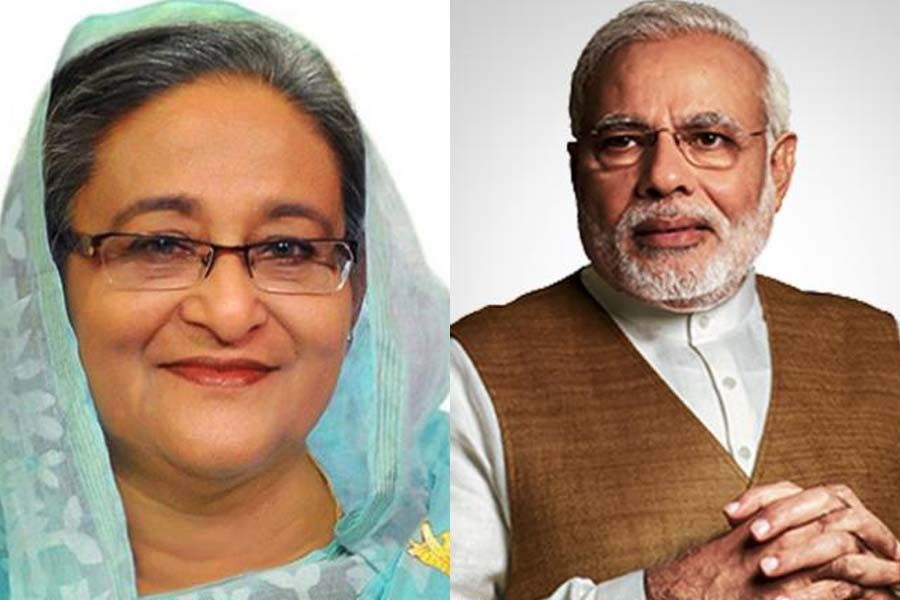 Hasina greets Modi on his birthday