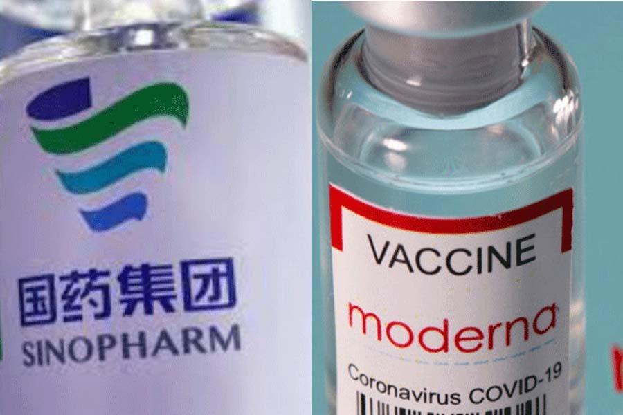 0.32m Moderna, Synoform vaccines reach Chattogram