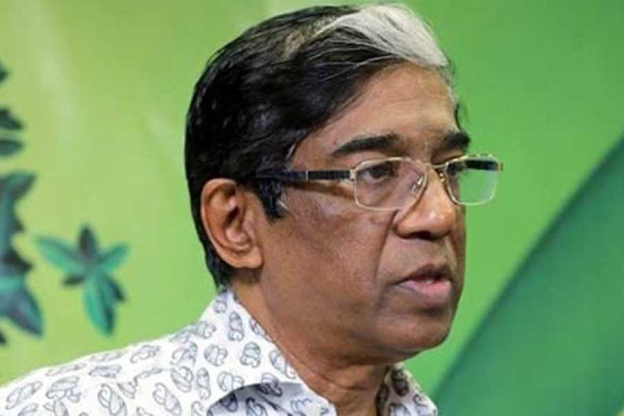 File photo of Prof Pran Gopal Datta
