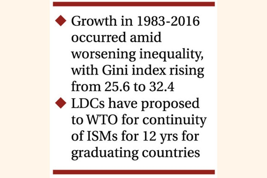 UNCTAD praises growth but sees wide inequality